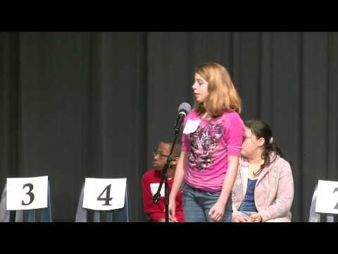 Newton County School System Spelling Bee 2013