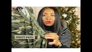 IT'S A THRIFT HAUL YALL! CLOTHES, CLOTHES AND MORE CLOTHES