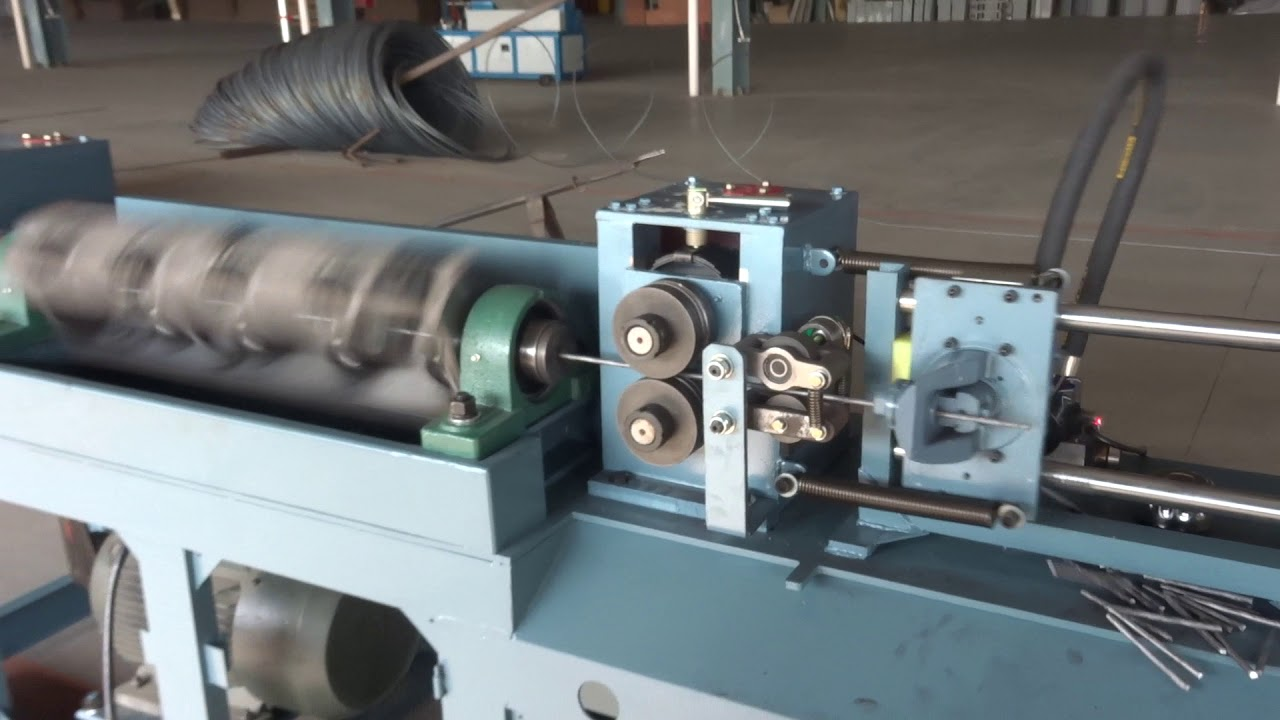 CABR Steel Wire Straightener and Cutter processing smooth round bar