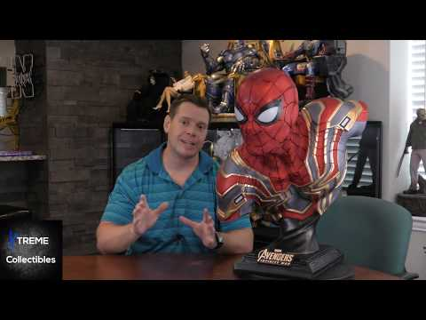 Queen Studios Iron Spider Life Size Bust Review
