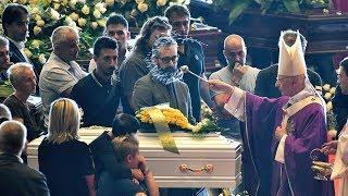 State funeral held for victims of Italy bridge collapse