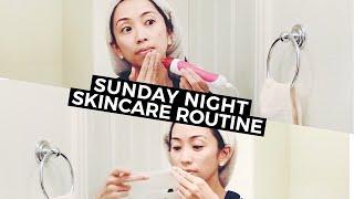 Sunday Night Microdermabrasion Skincare Routine, microdermabrasion, skincare, skincare routine, skincare tips
