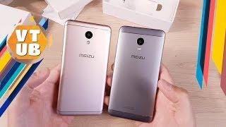 распаковка Meizu M6 и сравнение с Meizu M5s