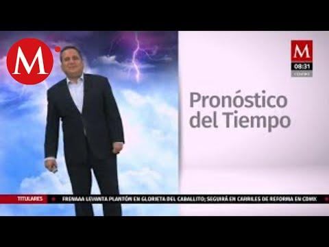 El clima para hoy 28 de septiembre, Abimael Salas