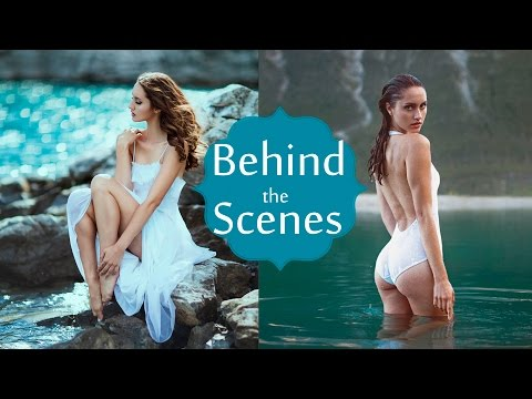 Mountain Lake Photoshoot, Behind the Scenes with The Photo Fiend