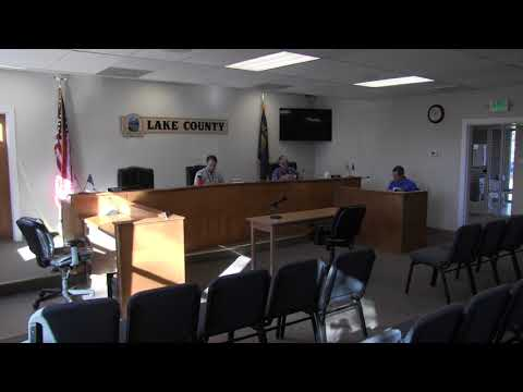 Lake County Commissioners regular session part one 11-1-2017