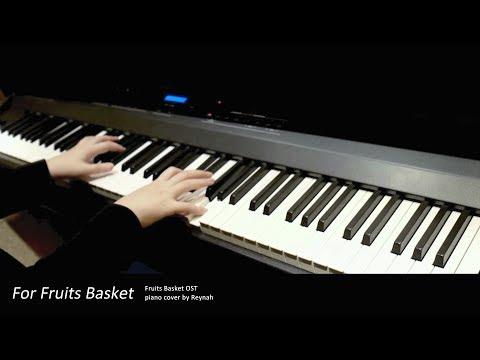 """후르츠바스켓 Fruits Basket OP : """"For Fruits Basket"""" Piano cover 피아노 커버"""