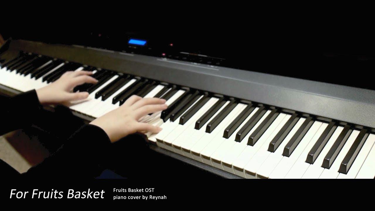 """후르츠바스켓 Fruits Basket OP : """"For Fruits Basket"""" Piano cover ..."""