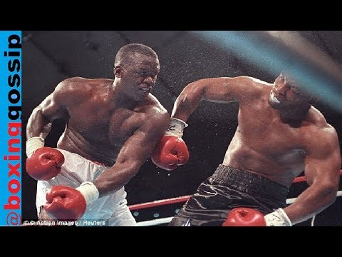 Who would win?  Peak Mike Tyson Vs Peak James Buster Douglas - Heavyweight boxing