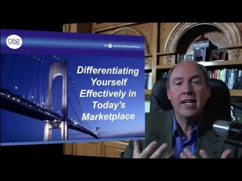 Differentiating Yourself Effectively as a Standout Financial Advisor