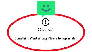 Fix Chomp SMS Oops Something Went Wrong Error Please Try Again Later Problem Solved screenshot 5