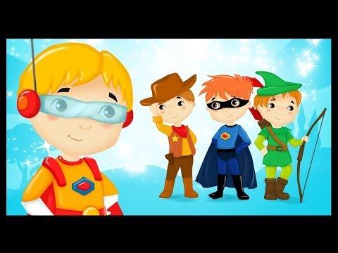 Les héros du monde - Chanson - Comptine