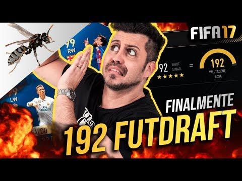 SPETTACOLO 193 FUT DRAFT CHALLENGE??!  SCAPPO DAL CALABRONE - FIFA 17