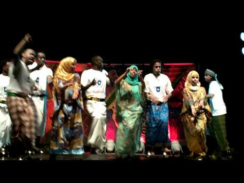African night performance @PSU Somali Dhaanto