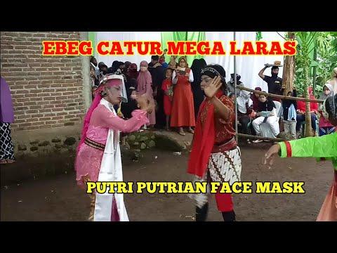 ebeg-catur-mega-laras---putri-putrian-face-mask