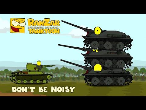 Tanktoon Don't Be Noisy RanZar