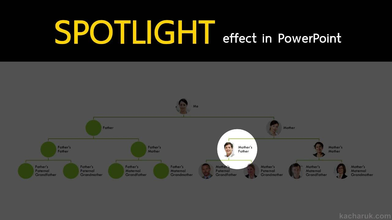 [Eng] Create a spotlight effect in MS PowerPoint