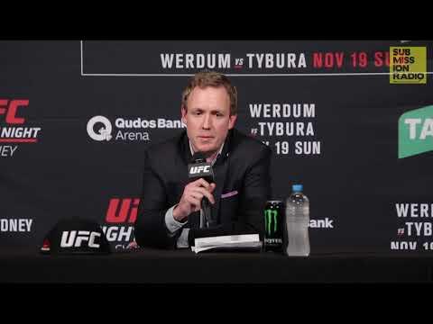 UFC Sydney Post-Fight: UFC Executive Dave Shaw on UFC Perth, Robert Whittaker, Australian MMA Market
