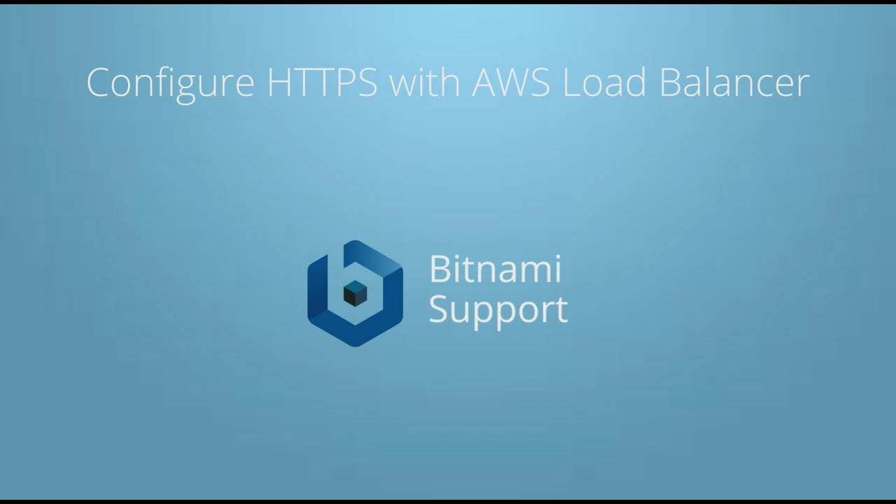 Configure Elastic Load Balancing with SSL and AWS