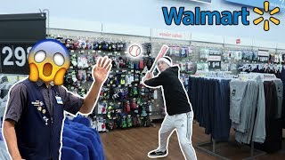 HOMERUN DERBY IN WALMART! *VLOGMAS*