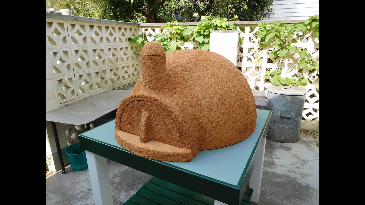 Concrete Mix In Clay : New pizza oven easy build funnycat tv