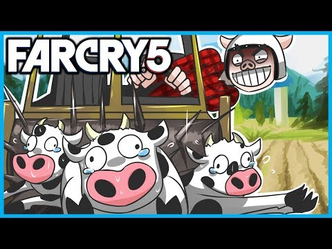 FAR CRY 5 Funny Moments Gameplay! -  High Tech Killer Tractors, The Testical Festival, and Planes!