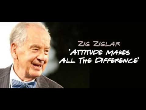Zig Ziglar Speech  - Attitude Makes All The Difference (Full)