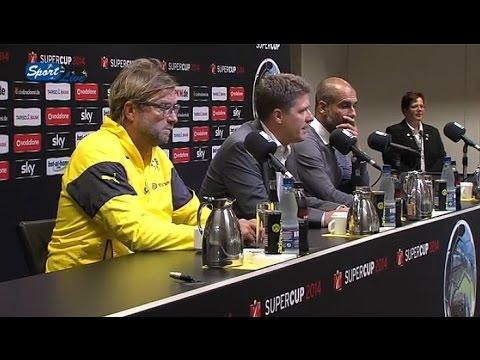 Pressekonferenz nach DFL-Supercup 2014 | BVB - FCB 2:0 (1:0)