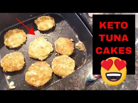 How To Make Keto TUNA CAKES!