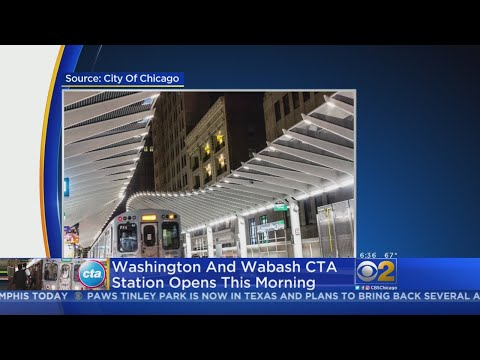 CTA Opens New 'L' Station In Loop