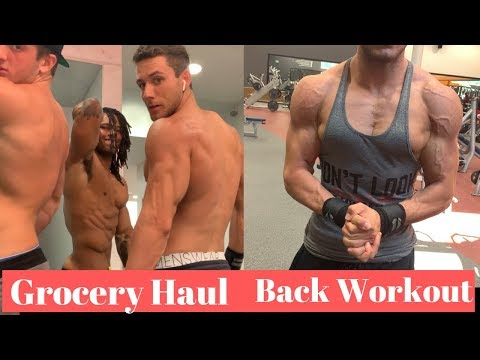 Grocery Haul And WORKOUT With SETH HOLBROOK And SPENCE MCMANUS