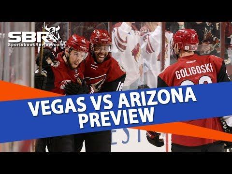 NHL betting | Vegas Golden Knights vs Arizona Coyotes | Ice Guys