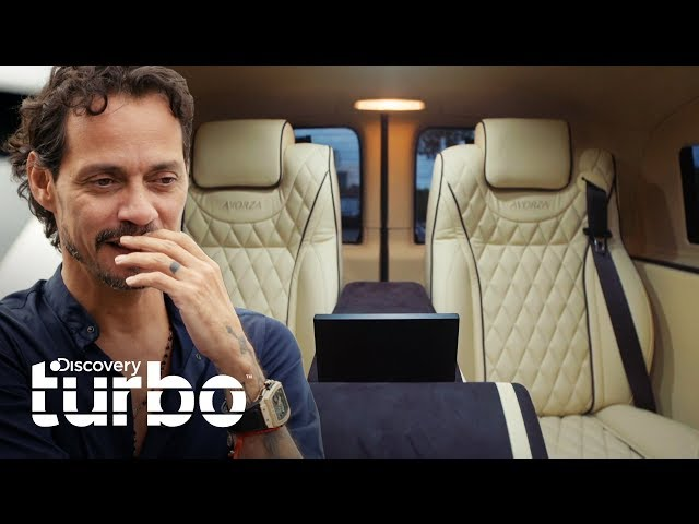 ¡Un avión de tierra para Marc Anthony! | Alex Vega Custom Shop | Discovery Turbo