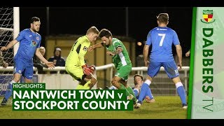 HIGHLIGHTS | Nantwich Town 3-0 Stockport County