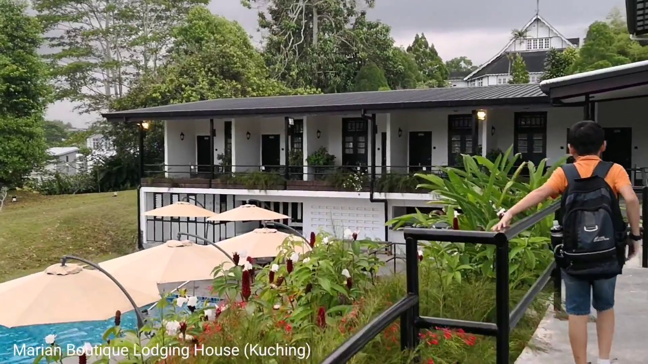Marian Boutique Lodging House Kuching Charming And Heritage Stay Youtube