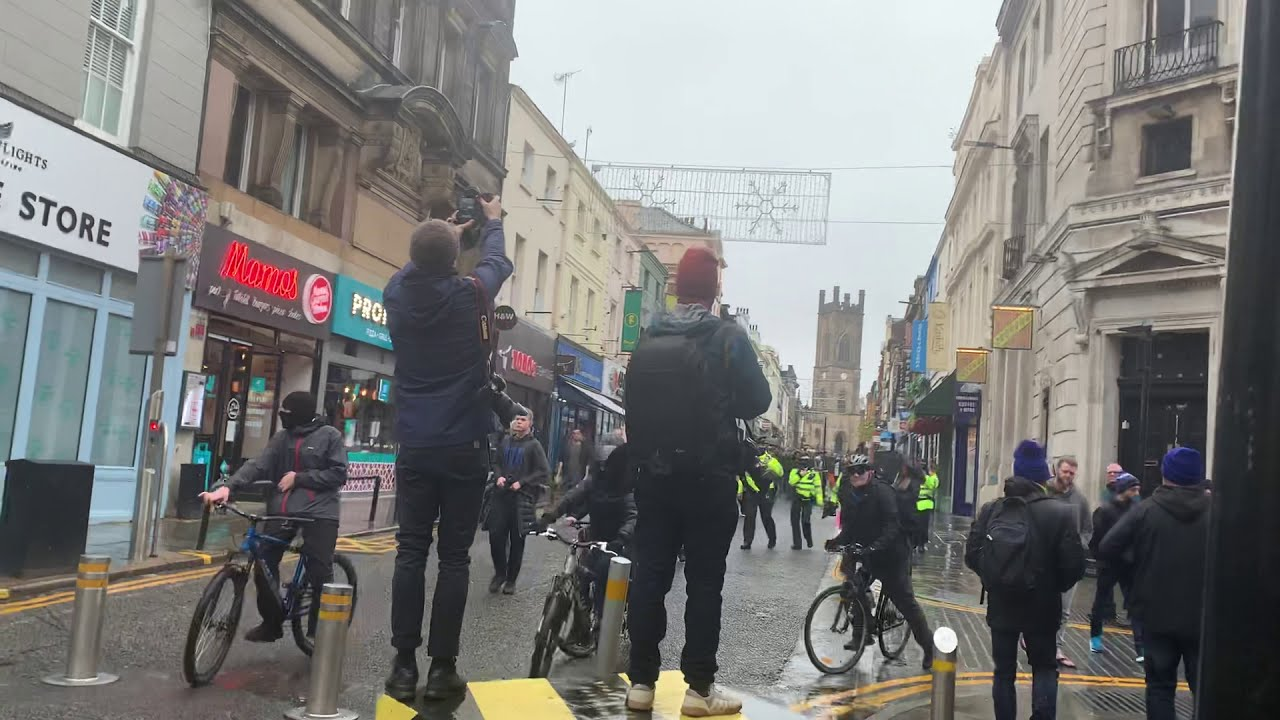 Live - Liverpool Protest For Freedom