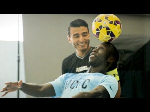 TOUZANI & BACARY SAGNA 2VS2 AT MANCHESTER CITY