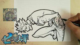 COMO DIBUJAR A BAN - NANATSU NO TAIZAI / how to draw ban - nanatsu no taizai