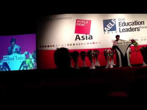 Education Minister of Thailand at #worldidacasia
