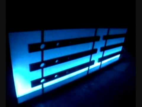 barra para bar antros bares iluminacin led multitonos