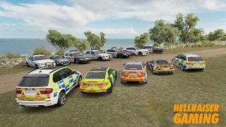 Forza Horizon 3 Cops Vs Robbers Car Show, Intense Police Chase, Getaways And More!