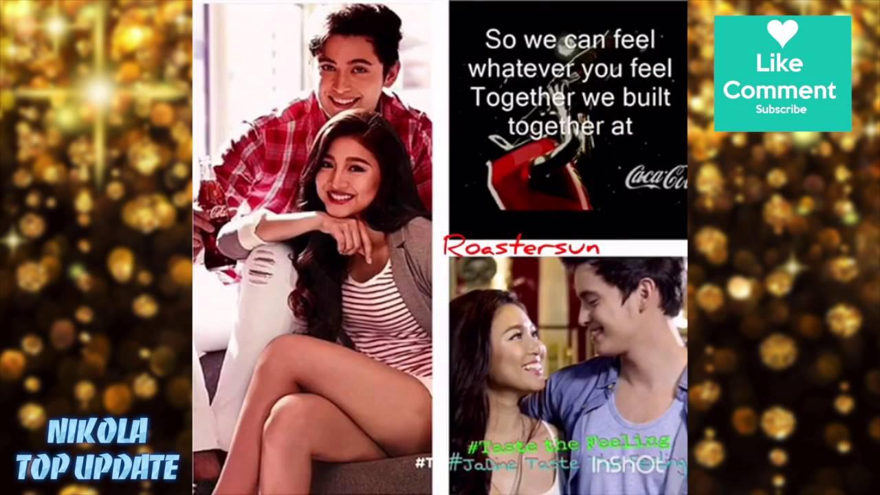 26a4ae75574  JaDine - TastetheFeeling ~ Sexy naman ng endorser ng Coca Cola love these  two