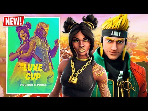Fortnite $100,000 Tournament Semi-Finals!! (Fortnite Battle Royale) thumbnail