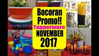 Gambar cover Bocoran  !!! KATALOG TUPPERWARE NOVEMBER 2017