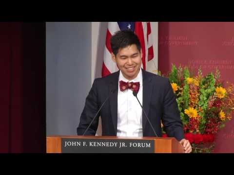 2016 Harvard Kennedy School Student Government Address Pitichoke Chulapamornsri