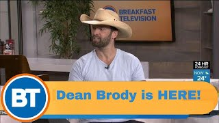 Country Music Star Dean Brody is HERE!