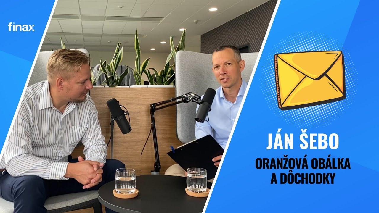 Finax | Rozhovor s Jánom Šebom, ktorý viedol výskumný tím v projekte Oranžová obálka