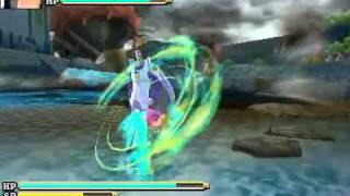 [3DS] One Piece Unlimited Cruise SP Character Specials Gameplay