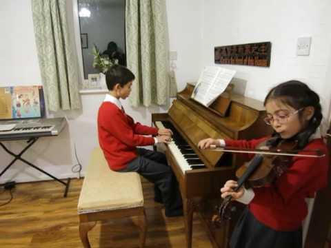 ABRSM 2016-19 Grade 2 Violin C3 Si Ji Ge Traditional Chinese song