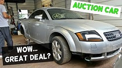 AUDI TT 1.8 TURBO from COPART CAR AUCTION